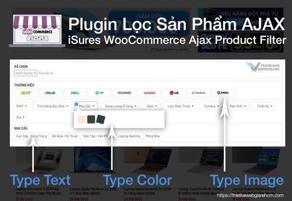 iSures WooCommerce Ajax Product Filter